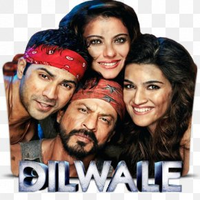 Shah Rukh Khan Kajol Rohit Shetty Dilwale Film PNG