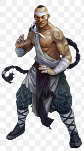 Male Warrior - Shaolin Monastery Dungeons & Dragons Pathfinder Roleplaying Game Monk Fantasy PNG