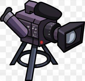 Video Camera - Club Penguin Video Cameras Camera Angle Clip Art PNG