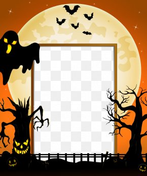 Halloween Vector Border - Count Dracula Halloween Costume Party PNG