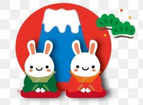 Cartoon Rabbit - Blog Rabbit Computer Desktop Environment Wallpaper PNG