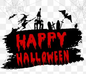 Halloween Vector WordArt - Illustration PNG