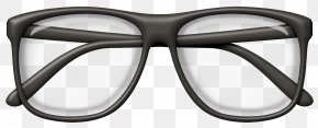 Black Glasses Clipart Picture - Image File Formats Lossless Compression PNG