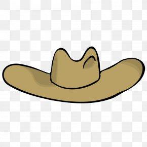 Cowboy Accessories Cliparts - American Frontier Cowboy Hat Clip Art PNG