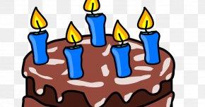 Birthday Cake 60 - Birthday Cake Frosting & Icing Cupcake Chocolate Cake Clip Art PNG