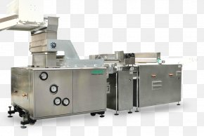 Injection Molding Machine Biscotti Plastic Conveyor Belt PNG