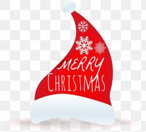Christmas Hats Merry Christmas - Santa Claus Christmas Hat Bonnet Illustration PNG