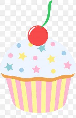 Image Of A Cupcake - Cupcake Bakery Chocolate Cake Clip Art PNG