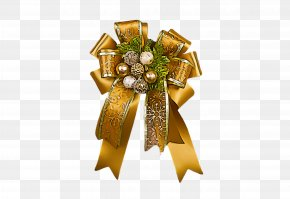 Metal Gift Wrapping - Christmas Ornament PNG