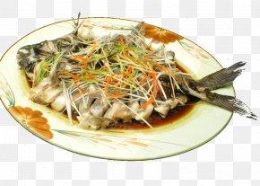 Flowers Fish Pole Wujiang - Fish As Food Recipe Dish Cuisine PNG