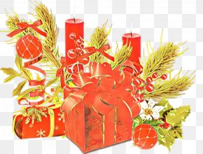 Hamper Christmas Eve - Present Gift Wrapping Plant Christmas Eve Hamper PNG