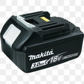 Lithium-ion Battery - Battery Charger Lithium-ion Battery Electric Battery Makita Cordless PNG