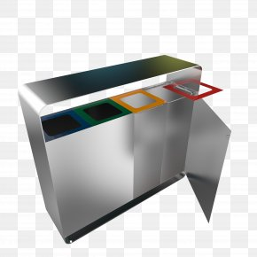 Stainless Steel - Rubbish Bins & Waste Paper Baskets Stainless Steel Edelstaal PNG