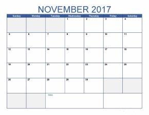 Calendar - Calendar November Template Portable Document Format Microsoft Excel PNG