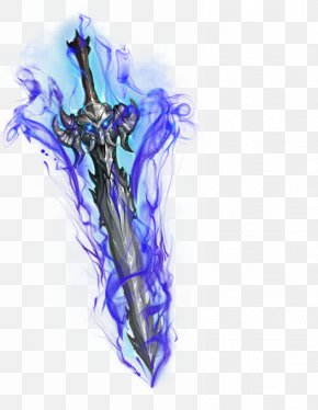 Hand-painted Ancient Sword - Sword PNG