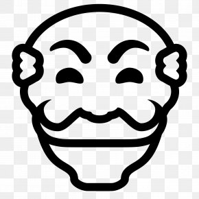 Anonymous Mask - Clip Art PNG