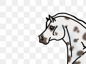 Reining Horse Silhouette - Horse Pony Mane Reining Clip Art PNG