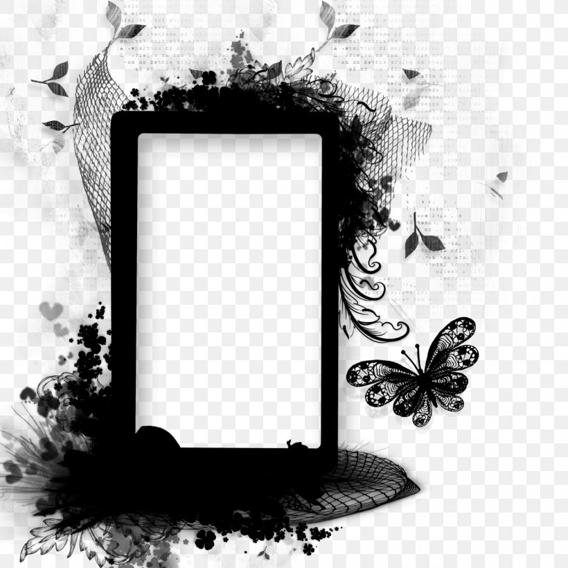 Butterfly Picture Frames Product Design Rectangle Font, PNG, 1280x1280px, Butterfly, Blackandwhite, Interior Design, Lepidoptera, Moth Download Free