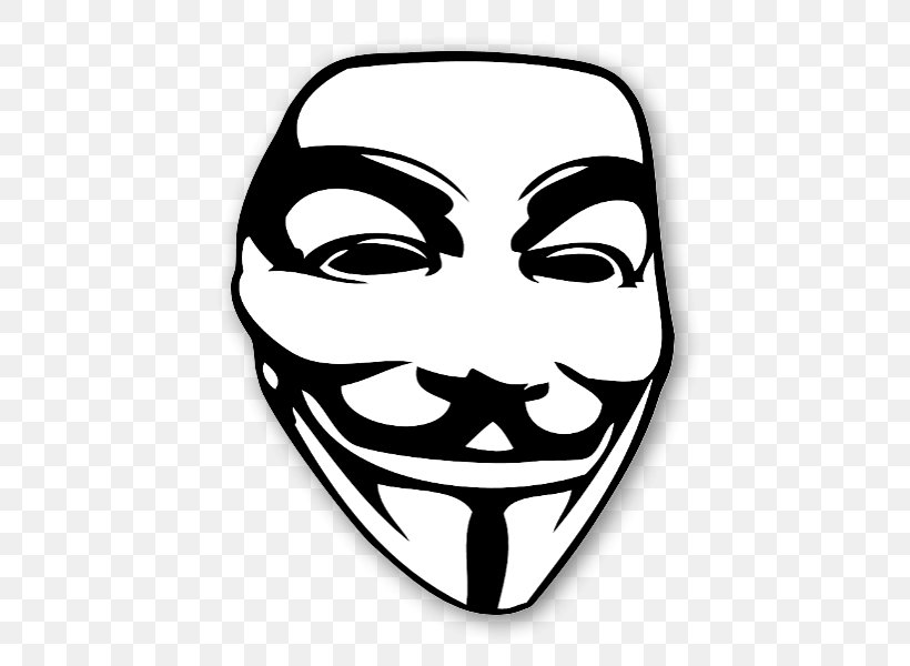 Guy Fawkes Mask Anonymous Text Clip Art, PNG, 496x600px, Guy Fawkes Mask, Anonymous, Black And White, Clothing, English Download Free