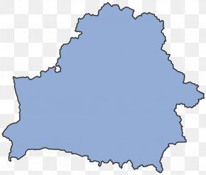 Stub - Flag Of Belarus Blank Map PNG