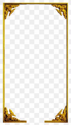 Gold Frame - Icon PNG