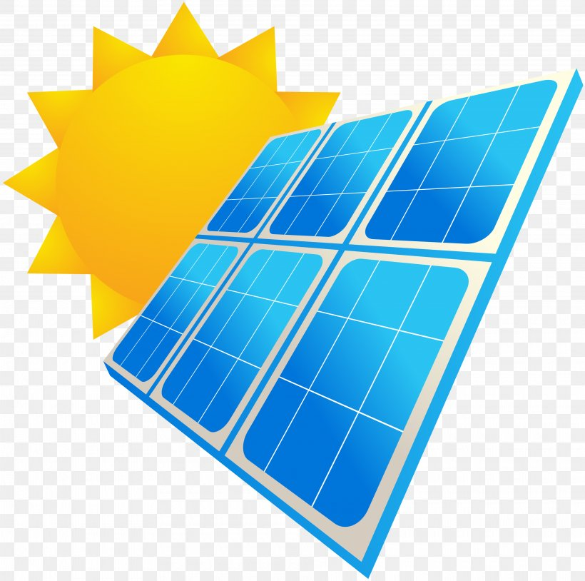 Solar Panels Solar Energy Photovoltaics System, PNG, 3840x3815px, Solar Panels, Electric Blue, Electrical Grid, Electricity, Energy Download Free