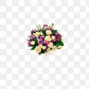 Elegant Bouquet - Flower Bouquet Birthday Garden Roses Gift PNG