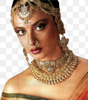 Actor - Rekha Actor Bollywood India PNG