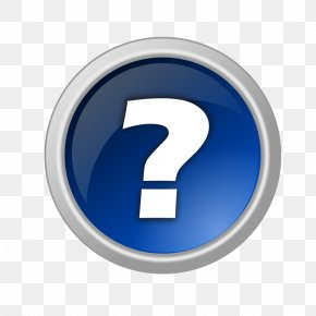 Help - Button Question Mark Clip Art PNG