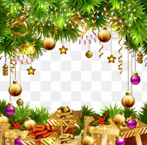 Beautiful Christmas Ornaments Background - Christmas Tree Paper Christmas Ornament PNG