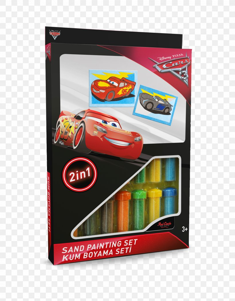 Mater Lightning Mcqueen Sandpainting Jackson Storm Png
