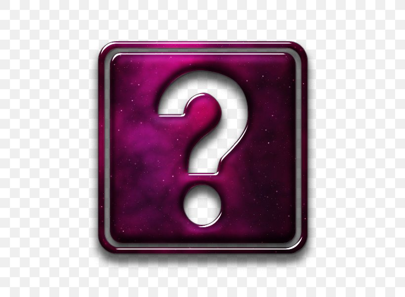 Question Mark Desktop Wallpaper Symbol, PNG, 600x600px, Question Mark, Black And White, Information, Magenta, Pink Download Free