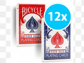 Bicycle Rider - Bicycle Playing Cards Contract Bridge Card Game United States Playing Card Company PNG