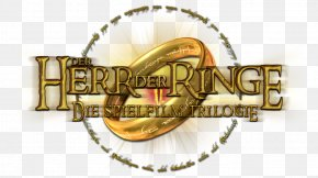 Lord Of The Rings Symbol - Logo The Lord Of The Rings Font Gold Image PNG