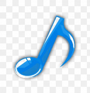 Blue Musical Note - Musical Note Blue Note Vector Graphics Clip Art PNG