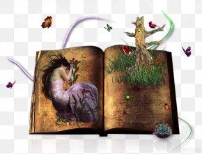 Nostalgic Sleeping Beauty - Used Book PNG