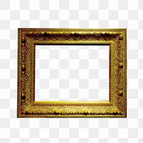 Gold Frame - Picture Frame Gold Computer File PNG