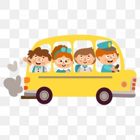 School Bus - Student Child School Clip Art PNG