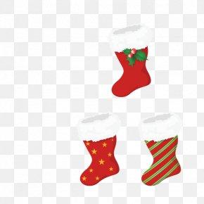 Christmas Stocking - Christmas Ornament Christmas Stocking PNG