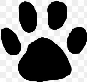 Animal Footprints Cliparts - Tiger Dog Cat Animal Track Paw PNG