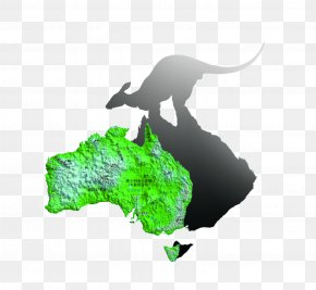Australia Map - Australia Icon PNG