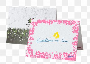 Golden Greeting Card - Seed Paper Printing Greeting & Note Cards PNG