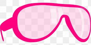 Pink Glasses - Pink Glasses Clip Art PNG