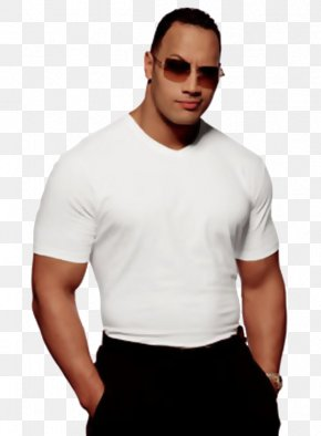 Dwayne Johnson - Dwayne Johnson Miami Hurricanes Football D-Generation X King Of The Ring Professional Wrestler PNG