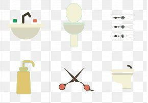 Washing Bathroom Toilet - Hygiene Euclidean Vector Icon PNG