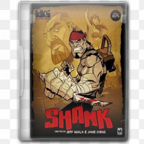 Shank - Shank 2 Xbox 360 Video Game PlayStation 3 PNG