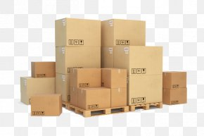 A Lot Of Cardboard Boxes - Pallet Racking Cardboard Box Cargo PNG