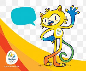Rio Olympic Mascots Background - 2016 Summer Olympics Opening Ceremony 2020 Summer Olympics Rio De Janeiro Gin Rummy Classic PNG