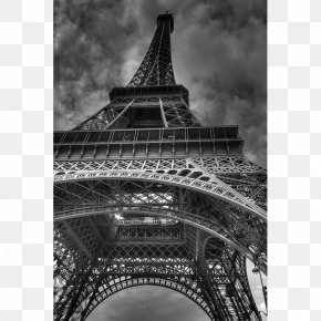 Eiffel Tower - Eiffel Tower Statue Of Liberty Design Canvas PNG