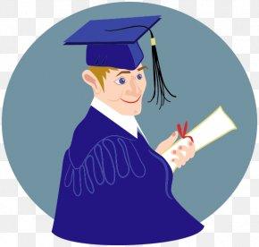 Graduation - Graduation Ceremony Square Academic Cap Diploma Clip Art PNG